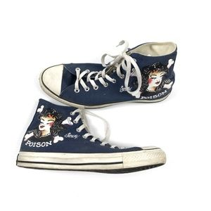 RARE Converse All Star Sailor Jerry High Tops